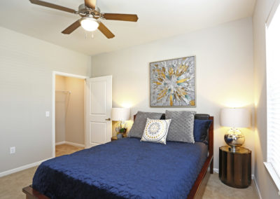 Sansom Pointe Bedroom and Closet