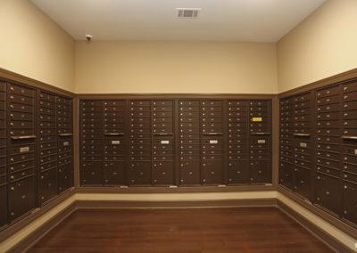 Sansom Pointe Mail room